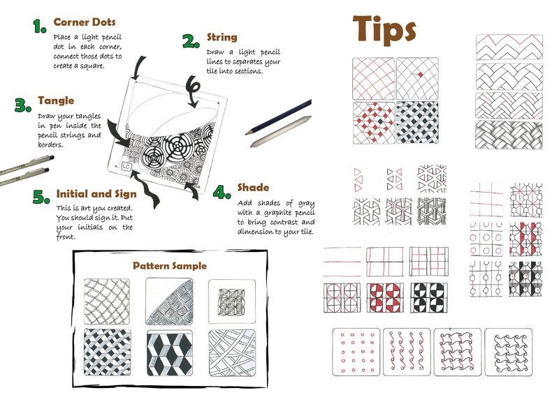 Tips for Drawing Zentangle