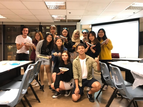 Green Quester Programme: Korean Vegan Kimbap Workshop - Group photo
