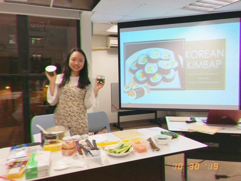 Green Quester Programme: Korean Vegan Kimbap Workshop
