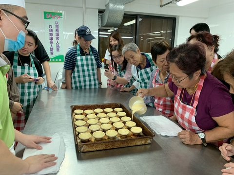 CEO Macau Trip - make egg tart