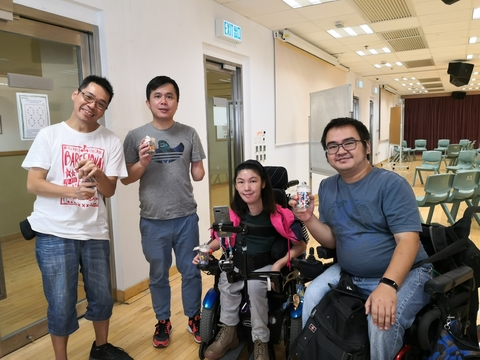 Image of Human Library - Sharing with Persons with Disabilities 「解讀人生」真人圖書館分享