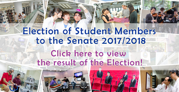 Election of Student Members to the Senate 2017/2018