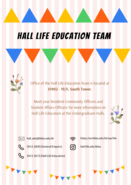 [UG] Hall Life Education Team - Office at S1902!!