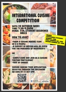 [UG] International Cuisine Competition