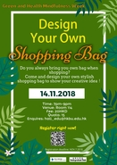 [UG] Green and Health Mindfulness Week: Design Your Own Shopping Bag