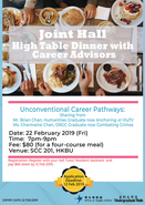 [UG] Joint Hall High Table Dinner with Career Advisors