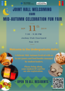 [UG] Joint Hall Welcoming cum Mid-Autumn Celebration Fun Fair