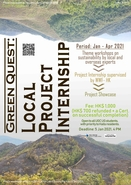 [UG] Green Quest: Local Project Internship 2020-21