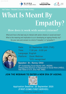 [UG] Webinar - What is meant by empathy? How does it work with senior citizens?