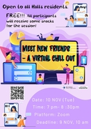 Meet New Friends- a Virtual Chill Out