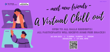Meet New Friends- a Virtual Chill Out (Sem 2)
