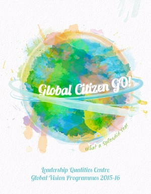 Global Citizen GO! Global Vision Programmes 2015-16 cover page