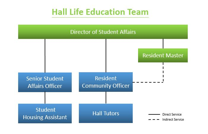 Structure of Hall Life Education Team